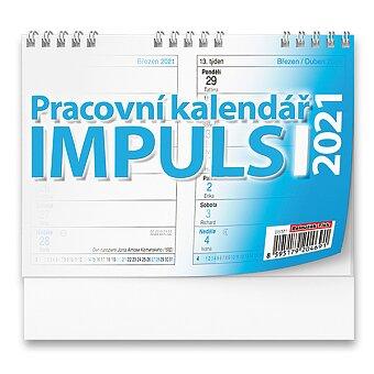 Obrázek produktu Dvoutýdenní stolní kalendář Impuls 2021 - 14,8 x 10,5 cm, pracovní