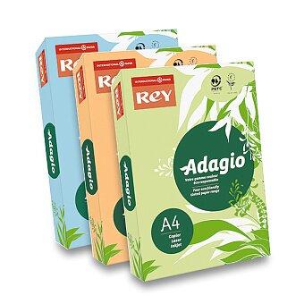 Obrázek produktu Barevný papír Rey Adagio - pastelový, 500 listů, výběr barev