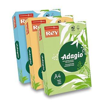 Obrázek produktu Barevný papír Rey Adagio - střední sytost, 500 listů, výběr barev