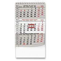 Stolní kalendář Mini tříměsíční 2021