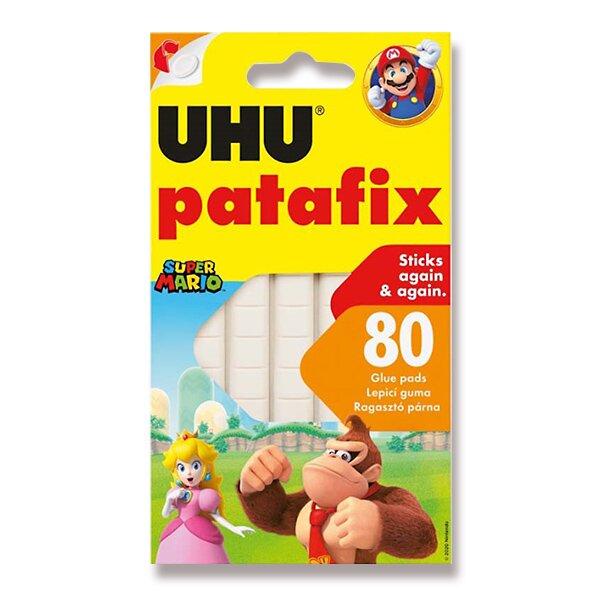 Samolepicí montážní guma UHU Tac Patafix Tajný život mazlíčků 2 bílá, 80 ks