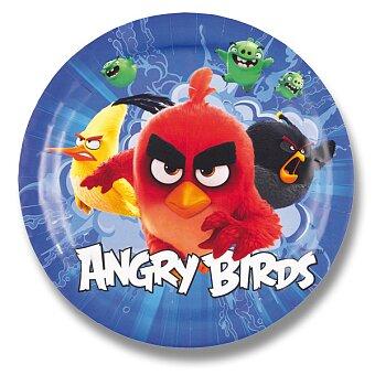 Obrázek produktu Papírové talířky Angry Birds Movie - průměr 23 cm, 8 ks