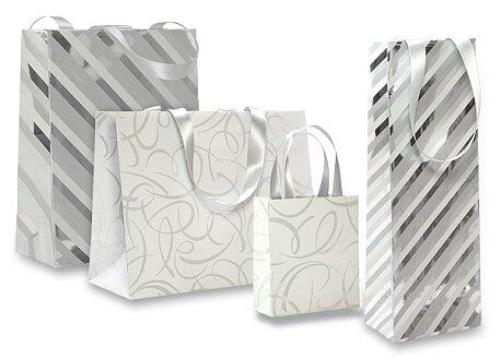 Obrázek produktu Dárková taška Premium White - různé rozměry, mix motivů