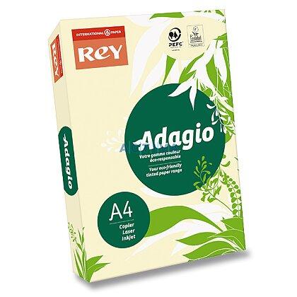 Obrázok produktu Rey Adagio - farebný papier - slonová kosť, A4, 500 listov
