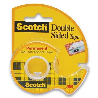 Obrázek produktu Oboustranná lepicí páska 3M Scotch Double - 12 mm x 6,3 m