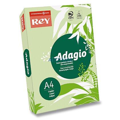 Obrázok produktu Rey Adagio - farebný papier - zelený, A4, 500 listov