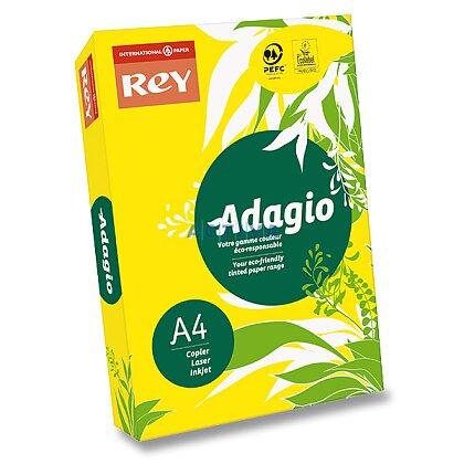 Obrázek produktu Rey Adagio - barevný papír - intenzivní žlutý