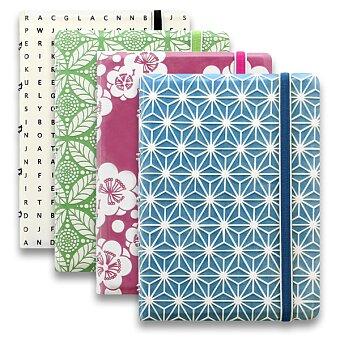 Obrázek produktu Kapesní zápisník Filofax Notebook Impressions A6 - výběr barev