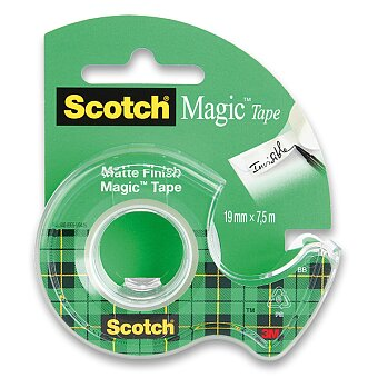 Obrázek produktu Samolepicí páska Scotch Magic Tape - 19 mm x 7,5 m