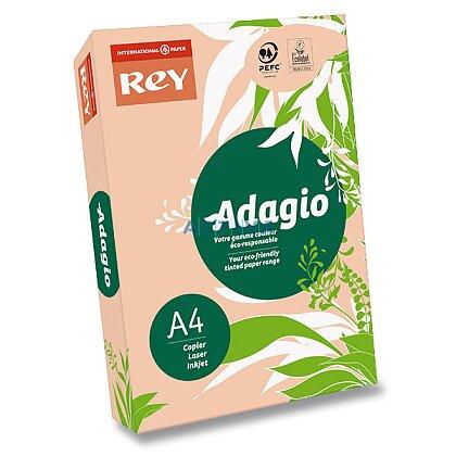 Obrázok produktu Rey Adagio - farebný papier - peach, A4, 500 listov