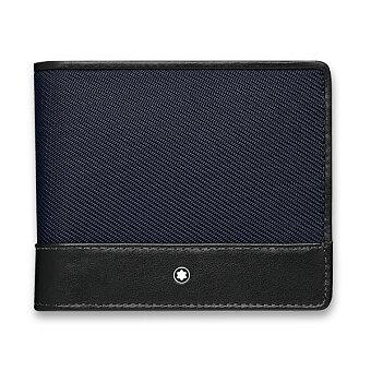 Obrázek produktu Peněženka Montblanc Nightflight - modrá, 4 cc, kapsa na mince