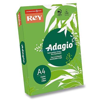 Obrázek produktu Rey Adagio - barevný papír - intenzivní zelený