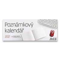 Stolní kalendář Poznámkový kalendář 2021