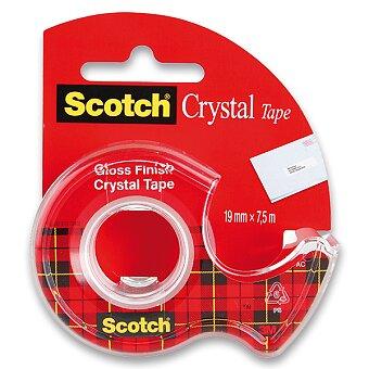 Obrázek produktu Samolepicí páska 3M Scotch Crystal - 19 mm x 7,5 m
