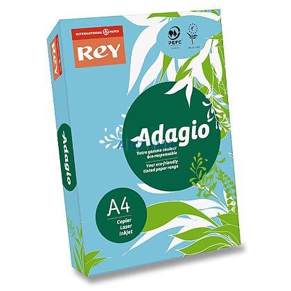 Obrázok produktu Rey Adagio - farebný papier - modrý, A4, 500 listov