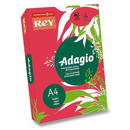 Obrázok produktu Rey Adagio - farebný papier - intenzívny červený, A4, 500 listov
