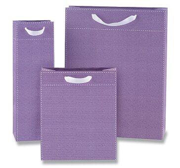 Obrázek produktu Dárková taška Tinta Unita - fialová, různé rozměry