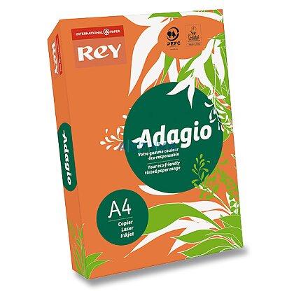 Obrázok produktu Rey Adagio - farebný papier - intenzívny oranžový
