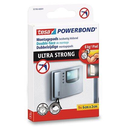 Obrázek produktu Tesa Powerbond Ultra Strong - lepicí páska - 6 x 2 cm, 9 proužků