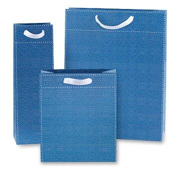 Obrázek produktu Dárková taška Tinta Unita - modrá, různé rozměry