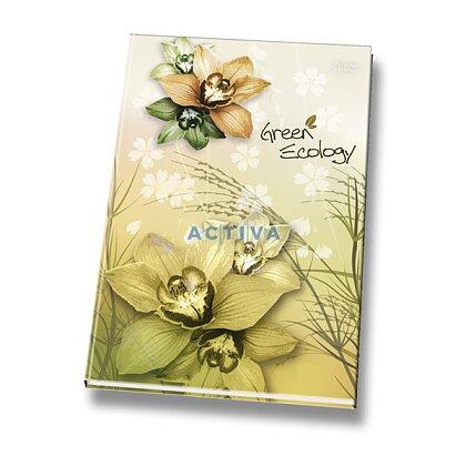 Obrázok produktu Green Ecology - záznamová kniha - A5, 80 listov, linajková