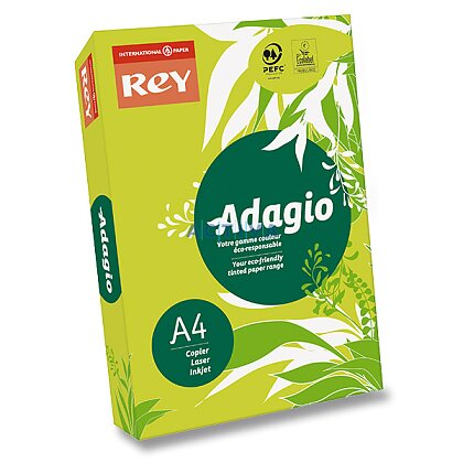 Obrázok produktu Rey Adagio - farebný papier - reflexne zelený