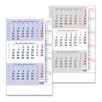 Tříměsíční kalendář nástěnný poznámkový 2021
