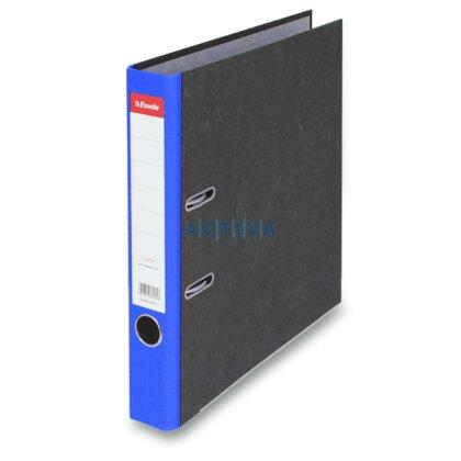 Obrázek produktu Esselte Mramor - pákový pořadač - A4, 50 mm, modrý