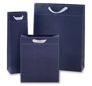 Obrázek produktu Dárková taška Tinta Unita - tmavě modrá - různé rozměry