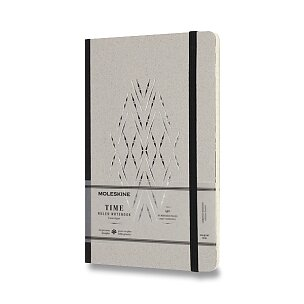 Zápisník Moleskine Time - tvrdé desky