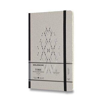 Obrázek produktu Zápisník Moleskine Time - tvrdé desky - L, linkovaný