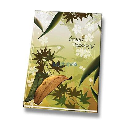 Obrázok produktu Green Ecology - záznamová kniha - A4, 80 l., linajková