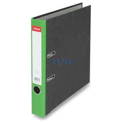 Obrázek produktu Esselte Mramor - pákový pořadač - A4, 50 mm, zelený