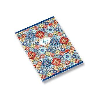 Obrázek produktu Školní sešit Ambar Lusa Tile - A5, linkovaný, 60 listů, mix motivů