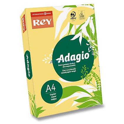 Obrázok produktu Rey Adagio - farebný papier - buttercup (žltý), A4, 500 listov