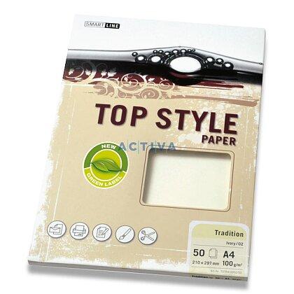 Obrázek produktu Top Style Paper Tradition - xerografický papír - A4, 100 g, 50 archů, bílý
