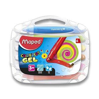 Obrázek produktu Gelové pastely Maped Color'Peps Gel - 6 barev