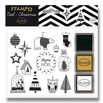 Obrázek produktu Razítka Stampo Christmas - Vánoce - 12 ks