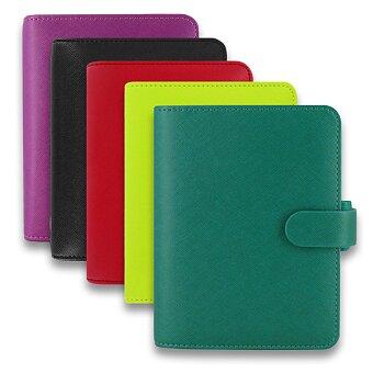 Obrázek produktu Kapesní diář Filofax Saffiano A7 - výběr barev