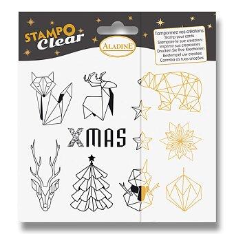 Obrázek produktu Razítka gelová Stampo Clear - Origami - 11 ks