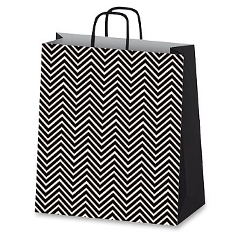 Obrázek produktu Dárková taška Geometric - černá - různé rozměry