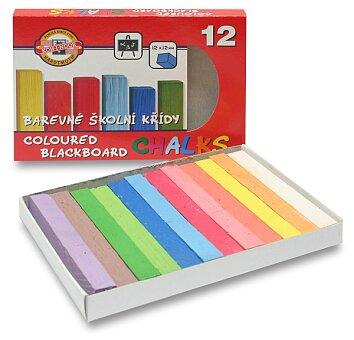 Obrázek produktu Křídy školní Koh-i-noor 112506 - 12 barev