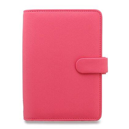 Obrázek produktu Filofax Saffiano - osobní diář A6 - růžový