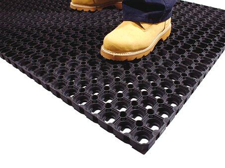 Obrázek produktu Rohož Coba Ringmat Honeycomb - 0,6 m x 0,8 m, černá