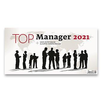 Obrázek produktu Stolní kalendář Top Manager 2021 - 32 x 16 cm, pracovní