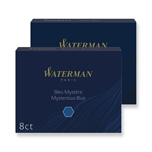 Inkoustové bombičky Waterman, 8ks