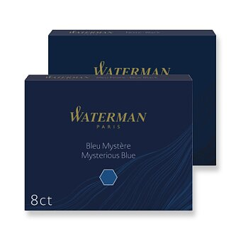 Obrázek produktu Inkoustové bombičky Waterman, 8ks - výběr barev