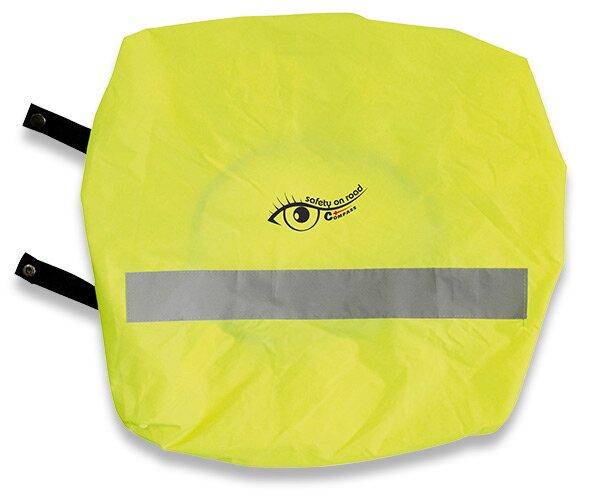 Výstražný potah na batoh žlutý