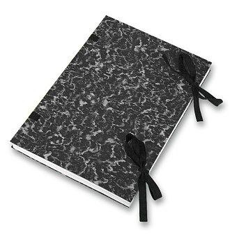 Obrázek produktu Desky s tkanicí  HIT Office - A4, černé, výběr balení