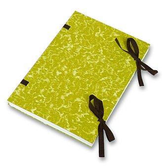 Obrázek produktu Desky s tkanicí  HIT Office - A4, žluté